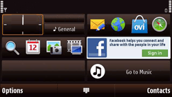Nokia N97 Mini - Voicemail - Manual configuration - Step 1