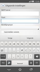 Sony D6503 Xperia Z2 - E-mail - Account instellen (IMAP zonder SMTP-verificatie) - Stap 14