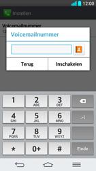 LG G2 - Voicemail - Handmatig instellen - Stap 9