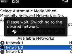 BlackBerry 8520 Curve - Network - Usage across the border - Step 8