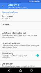 Sony Xperia XA - Android Nougat - E-mail - Instellingen KPNMail controleren - Stap 16