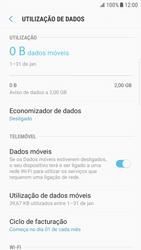 Samsung Galaxy S6 Edge - Android Nougat - Internet no telemóvel - Como configurar ligação à internet -  6