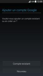 Samsung G530FZ Galaxy Grand Prime - Applications - Créer un compte - Étape 4