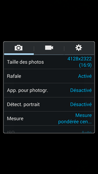Samsung Galaxy Note 3 - Photos, vidéos, musique - Prendre une photo - Étape 7