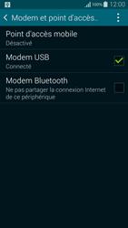 Samsung Galaxy Alpha - Internet et connexion - Utiliser le mode modem par USB - Étape 7