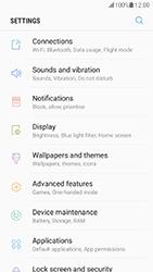 Samsung G930 Galaxy S7 - Android Nougat - Internet - Disable data roaming - Step 4
