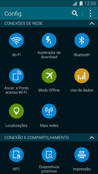 Samsung G900F Galaxy S5 - Wi-Fi - Como configurar uma rede wi fi - Etapa 4