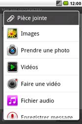 LG GW620 - MMS - envoi d'images - Étape 10