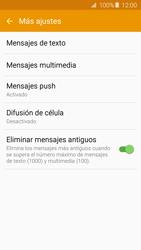 Samsung Galaxy A5 (2016) - Mensajería - Configurar el equipo para mensajes de texto - Paso 6