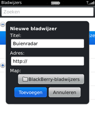 BlackBerry 9800 Torch - Internet - Hoe te internetten - Stap 8