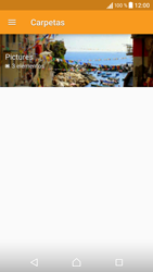 Sony Xperia X - Bluetooth - Transferir archivos a través de Bluetooth - Paso 7