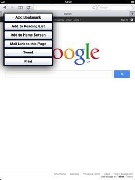 Apple The New iPad - Internet - Internet browsing - Step 5