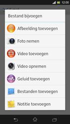 Sony Xperia SP 4G (C5303) - E-mail - Hoe te versturen - Stap 11