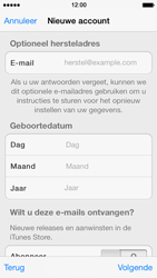 Apple iPhone 5s - Applicaties - Account aanmaken - Stap 14