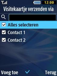 Samsung B2710 Xcover 271 - Contacten en data - Contacten overzetten via Bluetooth - Stap 8