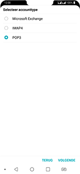LG g7-fit-dual-sim-lm-q850emw - E-mail - Account instellen (POP3 met SMTP-verificatie) - Stap 10