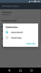 Sony G3121 Xperia XA1 - Netwerk selecteren - Handmatig een netwerk selecteren - Stap 10