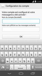 Huawei Ascend P7 - E-mail - Configuration manuelle - Étape 20