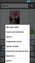 LG Optimus F5 - Contact, Appels, SMS/MMS - Envoyer un MMS - Étape 14