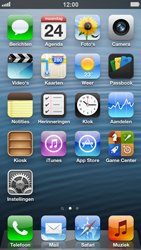 Apple iPhone 5 - E-mail - e-mail versturen - Stap 1