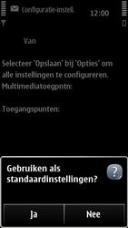 Nokia 500 - MMS - automatisch instellen - Stap 8
