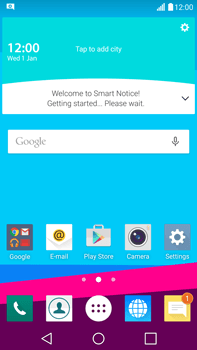 LG H815 G4 - Internet - Automatic configuration - Step 3