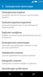 HTC Desire 610 - Contacten en data - Contacten kopiëren van toestel naar SIM - Stap 6