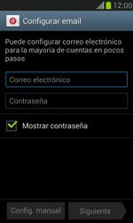 Samsung Galaxy S3 Mini - E-mail - Configurar correo electrónico - Paso 5