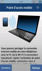 Samsung Wave 723 - Internet et connexion - Partager votre connexion en Wi-Fi - Étape 8