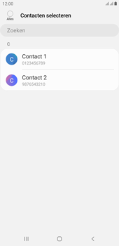 Samsung galaxy-j4-plus-dual-sim-sm-j415fn-android-pie - Contacten en data - Contacten kopiëren van toestel naar SIM - Stap 9