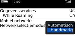 BlackBerry 8520 Curve - Netwerk - Gebruik in het buitenland - Stap 5