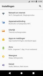 Sony Xperia XZ1 - WiFi en Bluetooth - Handmatig instellen - Stap 4
