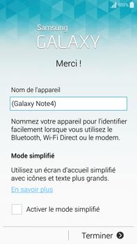 Samsung Galaxy Note 4 - Premiers pas - Créer un compte - Étape 28