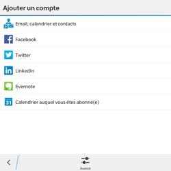 BlackBerry Passport - E-mail - Configuration manuelle - Étape 6