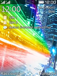 Archos F28 - Sécuriser votre mobile - Personnaliser le code PIN de votre carte SIM - Étape 1