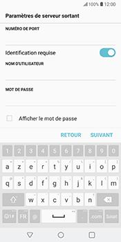LG V30 - E-mail - Configuration manuelle - Étape 16