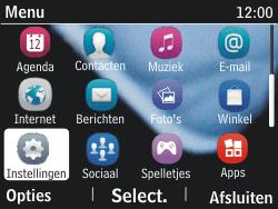Nokia Asha 201 - MMS - handmatig instellen - Stap 3