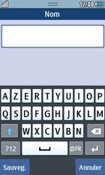 Samsung Wave 723 - Contact, Appels, SMS/MMS - Ajouter un contact - Étape 5