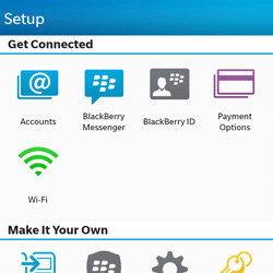 BlackBerry Q10 - E-mail - Manual configuration - Step 4