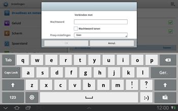 Samsung P7500 Galaxy Tab 10-1 - Wifi - handmatig instellen - Stap 7