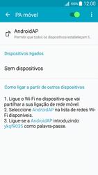 Samsung Galaxy A5 - Internet no telemóvel - Partilhar os dados móveis -  11