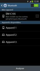 Samsung C105 Galaxy S IV Zoom LTE - Bluetooth - connexion Bluetooth - Étape 8