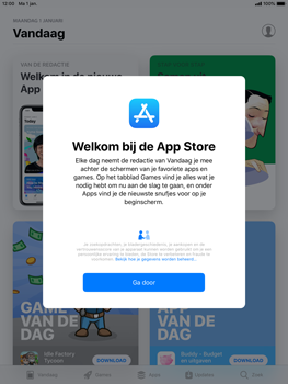 Apple ipad-air-2-ios-12 - Applicaties - Account aanmaken - Stap 3