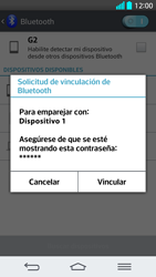 LG G2 - Bluetooth - Conectar dispositivos a través de Bluetooth - Paso 7