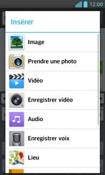 LG E460 Optimus L5 II - MMS - envoi d'images - Étape 12