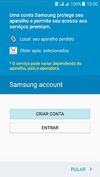 Samsung Galaxy J7 - Primeiros passos - Como ativar seu aparelho - Etapa 14