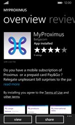 Microsoft Lumia 532 - Applications - MyProximus - Step 9