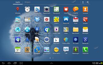 Samsung N8000 Galaxy Note 10-1 - MMS - Configuration manuelle - Étape 3