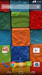 Motorola Moto X (2014) - Rede móvel - Como ativar e desativar uma rede de dados - Etapa 1