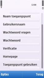 Nokia C5-03 - Internet - Handmatig instellen - Stap 14